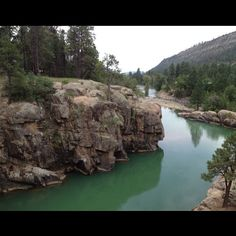 Imagine taking a refreshing dip in in the cool waters near Baker's Bridge, just a couple miles north of Durango, Colorado!