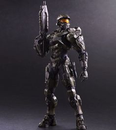 The legendary Master Chief from the Halo videogame-series. Halo Master Chief, Halo 5, Action Hero, Halo Action Figures, Kai, Halo Series, Halloween Toys, Ali Express, 6 Years