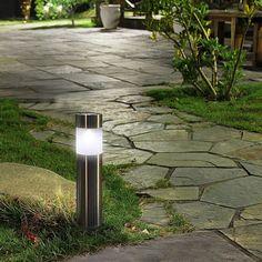 DEL Deck Lumières Jardin Solaire Jeu Post herbe Extérieur Allée Border Patio Pelouse