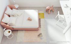 Home Designing — Two Modern, Minimalist Homes That Indulge in Lots. Minimalist Interior, Modern Minimalist, Tamizo Architects, Teen Room Designs, Futuristisches Design, Dream Bedroom, Interior Architecture, Interior Design, Room Inspiration