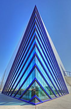 Devon Boathouse, Oklahoma City, Oklahoma.  designed by Rand Elliott.  photo MichaelStano
