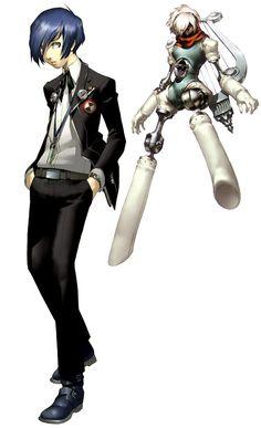 Main Character - Characters & Art - Shin Megami Tensei: Persona 3