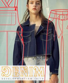 Discover the new Fall Winter 2018-19 DENIM Development Designs by 5forecaStore Fashion Trends forecasting.