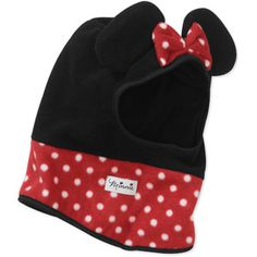 Disney Baby Girls' 2-Piece Minnie Ear Hat