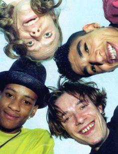 The Prodigy - Liam Howlett, Keith Flint, Maxim Reality & Leeroy Thornhill.