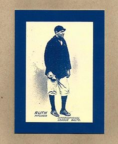 babe ruth baseball card 1914