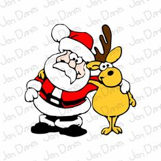 Animated and still clipart of Santa's reindeer including Rudolph with his brightly glowing red nose. Lots of other free Christmas clipart here as well! Christmas Graphics, Christmas Clipart, Christmas Images, Christmas Colors, Christmas Humor, Christmas Crafts, Christmas Stuff, Christmas Ideas, Holiday Pics