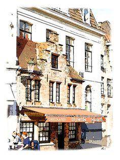 'Erbauliches in Brügge, Belgien – 03/15' von Dirk h. Wendt bei artflakes.com als Poster oder Kunstdruck $18.03
