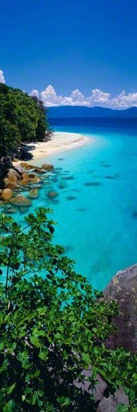 Fitzroy Island, Queensland, Australia-visited this island often for day trips when living in Cairns, Australia