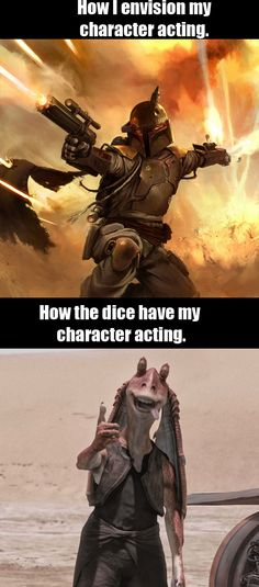 Really sad how true that is . - only RPG players can understand .: D - GAMING - star wars Dnd Stories, Dnd Funny, Dungeons And Dragons Memes, Dragon Memes, Nerd Humor, Gamer Humor, Star Wars, Fantasy Rpg, Gaming Memes
