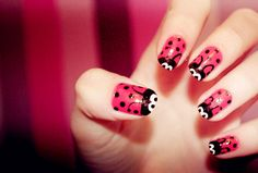 Red Nail Designs: Red Color Cute Nail Design Ideas ~ Nail Designs Inspiration