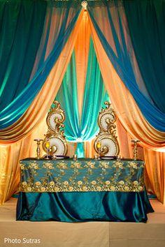 Indian Wedding Gallery: Reception | Maharani Weddings