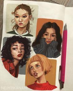16 ideas gcse art sketchbook people for 2019 Art Inspo, Kunst Inspo, Art Sketches, Art Drawings, Dress Sketches, Bel Art, Illustration Design Graphique, Digital Illustration, Illustration Artists