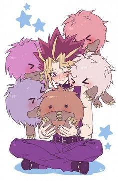 Yugi and his Caribous X3