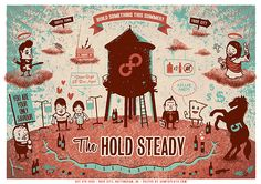 GigPosters.com - Hold Steady, The