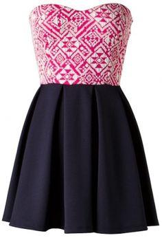 Sweetheart Skater Dress