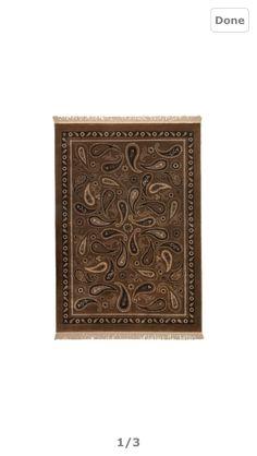 Rustic rug from ikea.  Vesterbro 5' x 7' $99.00 CAD