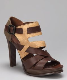 Brown & Tan Haircalf Tamia Shoe by Calvin Klein on #zulily today!