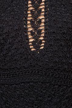 Vestido Crochet Vintage FC Pinus - Vanessa Montoro - vanessamontoro