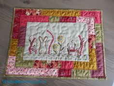 Stitched Memories in Time: quilt