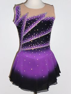 Beautiful & lovely ice skating dress size girls medium | Beautiful ...