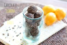 Chocolate Lemon Ener