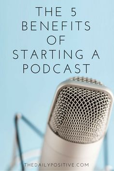 There are profound benefits of starting a podcast. If I would've realized these benefits when starting our business, I would've launched our podcast from the start.