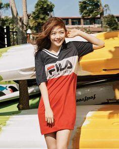 Kim Yoo Jung - 김유정 FILA