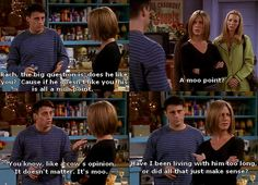 Because of the popularity of Friends show,I have included the best friends TV show quotes in my post. These Friends TV series quotes are funny and amusing. Friends Tv Show, Friends Moments, I Love My Friends, Funny Friends, Joey Friends, Friends Scenes, Friend Jokes, Friends Forever, Funny Moments