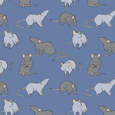 , Rats! via daisyhillyardillustration