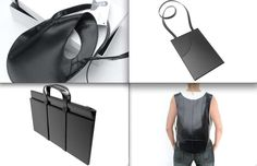 Futuristic Luggage: Sleek, Space-Age Bags and Briefcases by Jerome Olivet