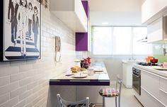 Coeco Cocinas | Apartamento Tem Espaco Gourmet Integrado A Sala Hogarhabitissimo