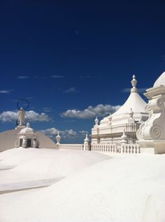 Coolest cathedral- this is the roof of a cathedral in Leon, Nicaragua where you can walk around barefoot!