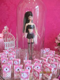 Cha de barbie  lingerie