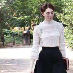 Historical Costume, Historical Clothing, Historical Dress, White Tea Dresses, Edwardian Fashion, Edwardian Style, 20th Century Fashion, Period Outfit, Banner