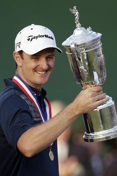 US Open Golf 2013 Champion Justin Rose