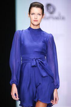 Beresta autumn - winter 2017 , silk dress, deep blue, шёлковое платье , Айвазовский