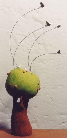 L'albero - sculpture by Giovanni Garlanda