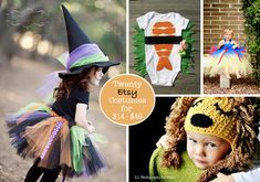 A round up of 20 of the best costume finds on Etsy - my favorite resource for handmade Halloween goodness!