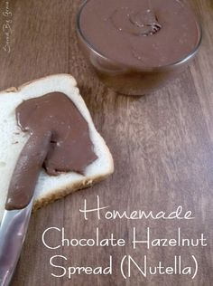 If one of your favorite foods is Chocolate Hazelnut Spread, you are going to love my homemade Nutella recipe! Come see how easy it is to make!
