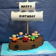 Pirate Ship Cake...  I think this one is my favorite...