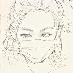 Kpop Drawings, Art Drawings Sketches Simple, Art Reference Poses, Art Sketchbook, Artist Art, Aesthetic Art, Cute Art, Art Inspo, Anime