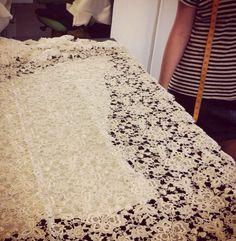 KAREN WILLIS HOLMES #weddingdress #draping #couture #newyorkwedding
