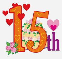 Happy 15th Anniversary! | Free Greetings from www.balligifts.com 's Customers to their friends!