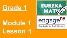 Eureka Math Grade 1 Module 1 Lesson 1