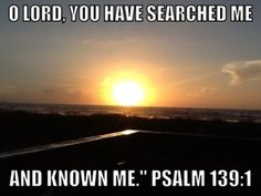 Psalm 139:1: Searched Me http://dhsellmanntest.wordpress.com/2013/07/27/psalm-1391-searched-me/