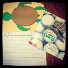 One Tiny Turtle craft & writing