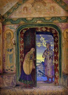 The Messenger, Nicholas Roerich