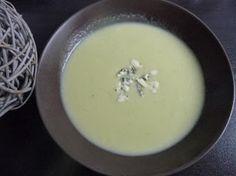 Papilles on/off: Soupe de courgettes au bleu d'Auvergne au thermomix