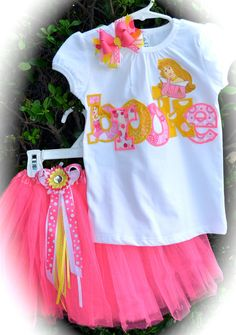 Custom Boutique Girls Disney Vacation Birthday by chloesmommy, $65.00